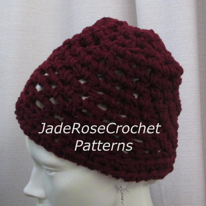 Free Crochet Pattern – Team Beanie
